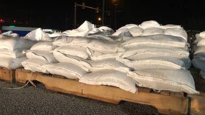 Free sand bags at Mabee Center