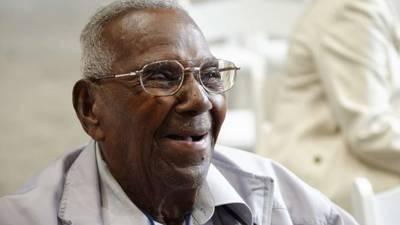 America's oldest WWII veteran celebrates 112th birthday